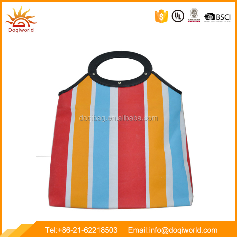 Popular polyester material shopping tote bag