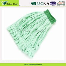 Color optional microfiber material replacement cleaning mop pad