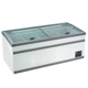 Countertop Display Island Supermarket Glass Top Chest Freezer