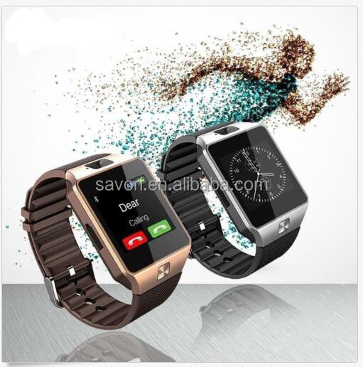 Men Adult Bluetooth Smart Watch Phone + Camera SIM Card For Android IOS system watch smart