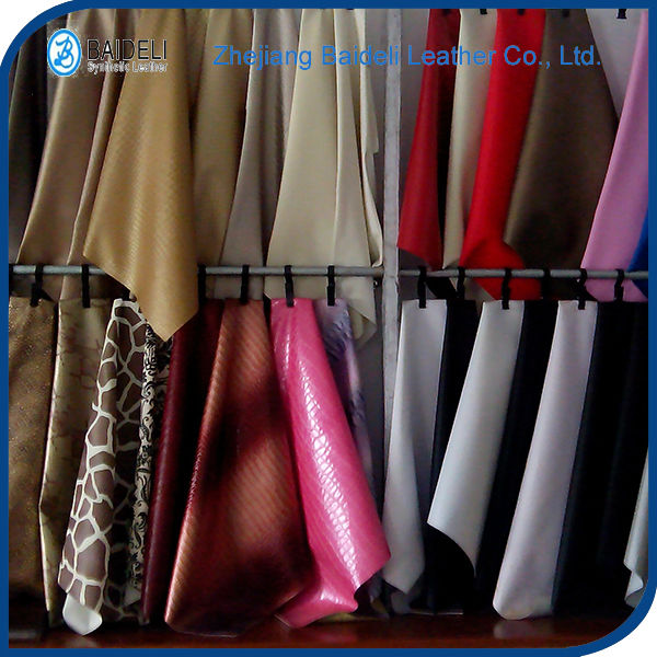 new design colorful pvc rexine leather for bags, sofa, notebook,decoration,furniture