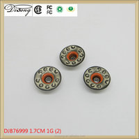 Wholesale brass jeans button cheap price rust free jeans button for jeans