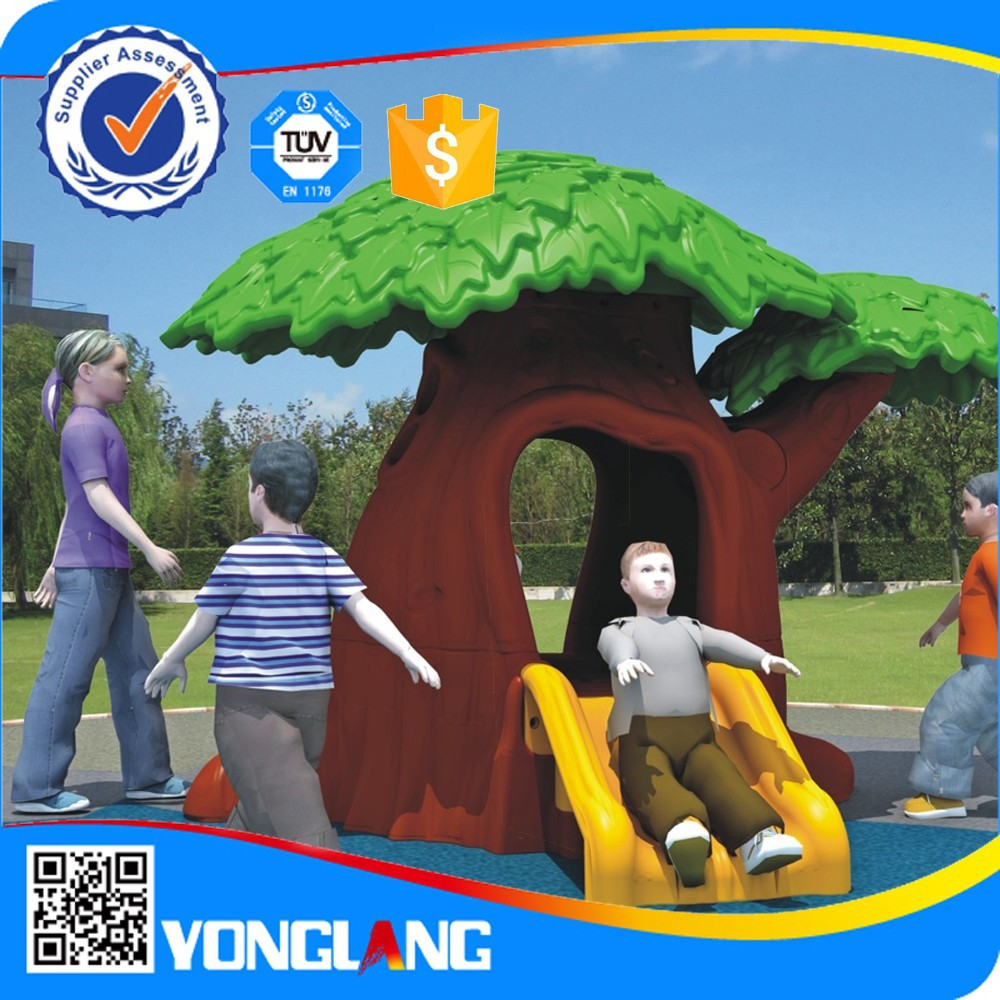 Hot sales big style Children plastic garden house children treehouse