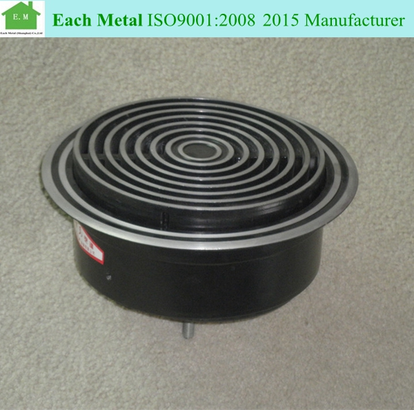 Air conditioning grille adjustable ceiling diffuser hvac round vent