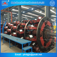 100% back-twist worm gear top of cradle armoring power cable machine with steel wire
