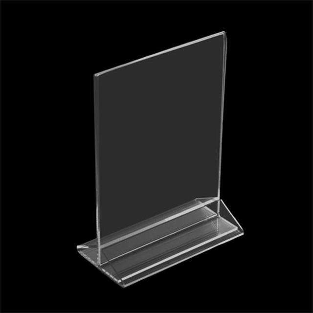 Best Selling Photo Frame A4 Acrylic Paper Display Stand Cardboard Display Holder Photo Frame