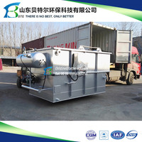 Oil Wastewater Treatment Dissolve Air Flotation Unit, air floatation System