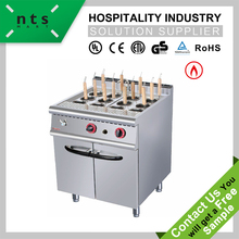 gas noodle cooker with cabinet(12 baskets) ,automatic noodle pasta cooking machine , combi gas boiler