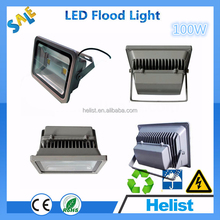 Fashion High intensity toughened glass cover outdoor 100w long-distance led flood light