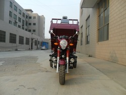 Motorized 200cc Three Wheel Motor Tricycle Cargo Use For On Sale