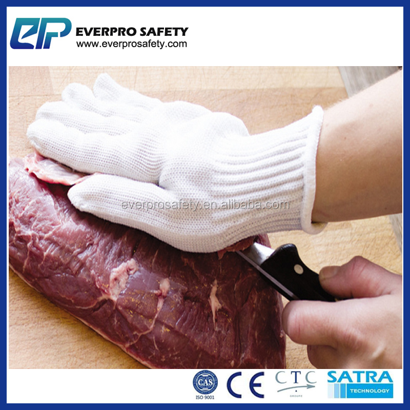 Stainless Steel Cut 5 HDPE Cut Resistant Gloves