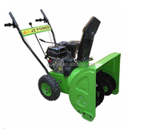 High grade manual start snow blower