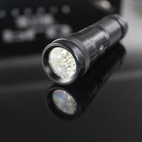PLD/Pailide GL-7114 Aluminum Material flashlight led ultraviolet 14 led
