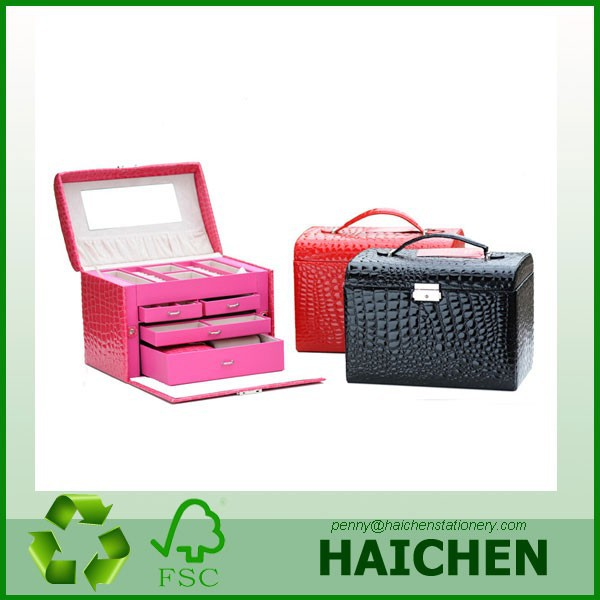 Elegent Custom Made Wooden Box for Jewelry