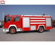Assessment supplier 8000 liters Airport fire fighting truck for sale