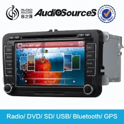 Audiosources: 2015 - 7 inch capacitive touch screen car dvd player for skoda +seat+vw with canbus function