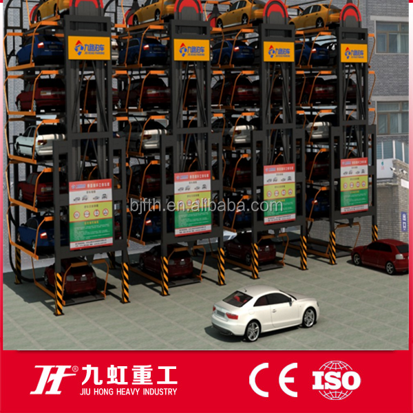 8-16 cars Carousel Parking equipment garage elevator parking