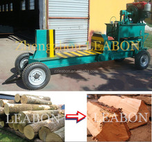 LEABON high capacity wood log cutter and splitter