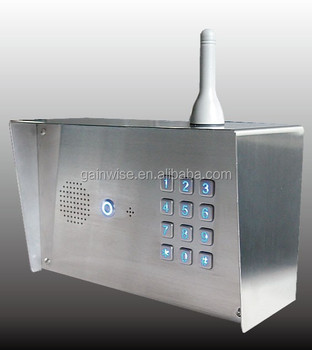 3G GSM Keypad Access Control Intercom door phone PIN code assess relay controller mobile entry dial to open gate opener