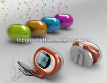2014 promotion gift pedometer with belt clip and cover for promotion