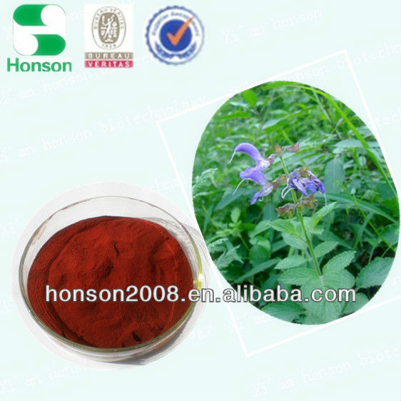 herbal medicine extract of tanshinone hplc from salvia miltorrhiza bge for wholesale