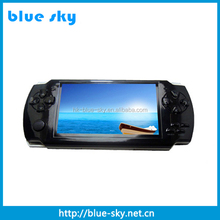 2014 beautiful player portable mp5 vedio player game player with real capacity 4gb