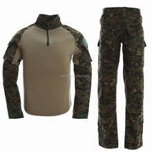 Government military and combat supply - digital woodland camo combat uniform