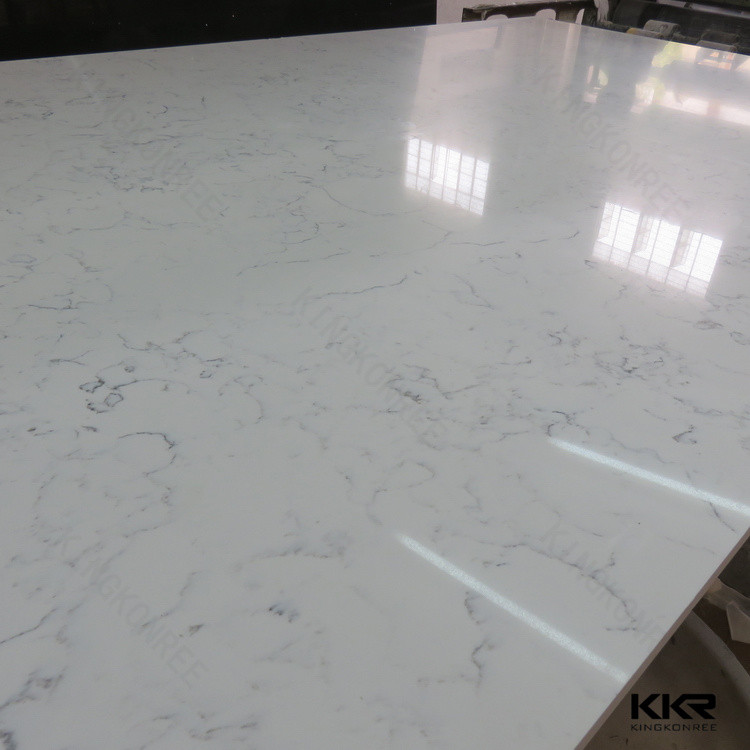 2cm 3cm Standard Size Pure White Caesarstone Engineered