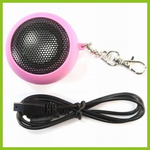 2016 portable hamburger ball speaker mobile phone amplifier professional car mini speaker with usb charger