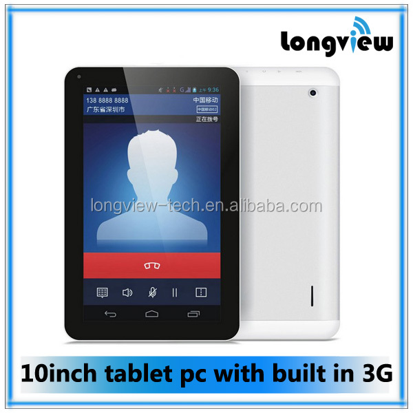 tablet pc 3g gsm 10 inch tablet pc quad core andriod FM GPS Bluetooth MTK8382 1.3GHZ