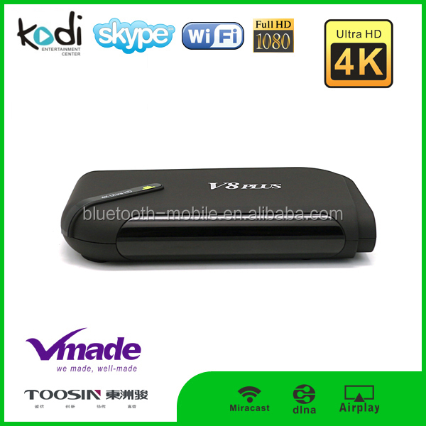 Best hot sale smart tv box Amlogic S812 support CBMC KODI Quad core TV Box XBMC DLAN Miracast android tv box