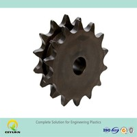 uhmw-pe customized spare parts/ chain sprocket/ sprocket wheel