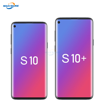 Maxshine Wholesale Mobile Accessoriestempered Glass Screen Protector Sheet For Samsung S10 S10E S10 Plus