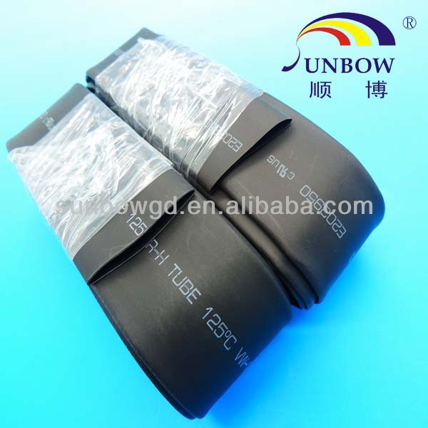 with 12 years manufacturing experience 200 meters assortment polyolefin 2:1 heat shrink tubing sleeving wrap kit