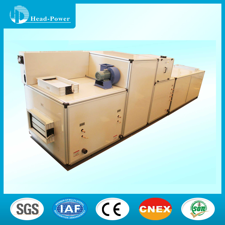 Modular Air Handling Unit With Heat Exchanger HVAC System for Mechanical hospital