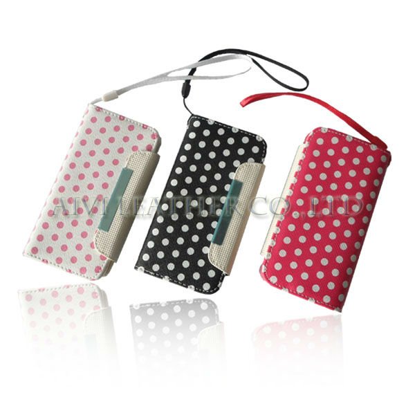 2013 New Hot Selling For iphone 5 wallet case,for iphone 5'' cover case