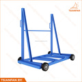 High quality custom metal slab display rack heavy duty display stand