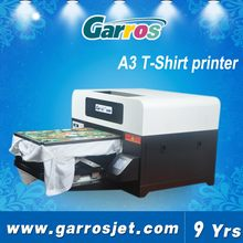 A3 size 8 color digital t-shirt printing machine custom print dtg printer texjet