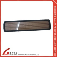 Hot Sale Custom acrylic License Plate frame for Car Decoration,material with chrome ,plastic,zinc alloy