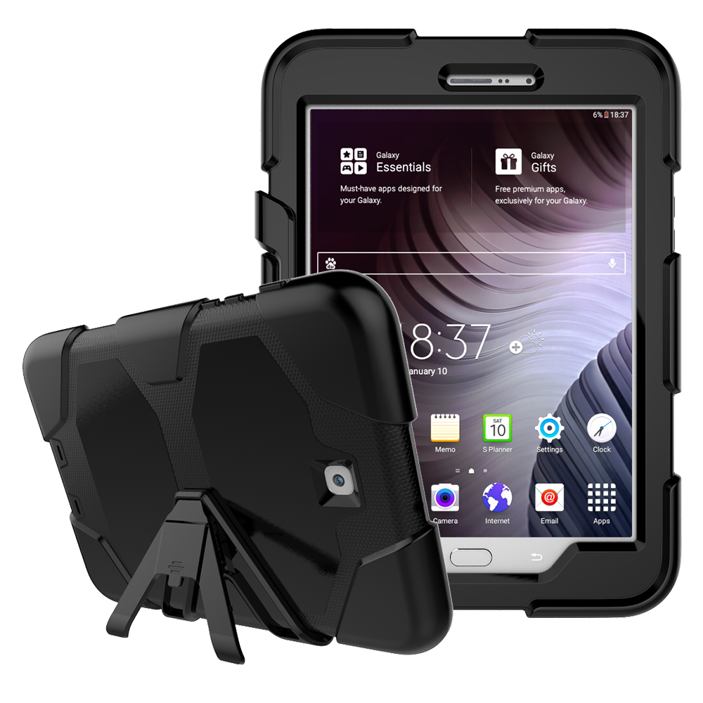 Heavy Duty Case for Samsung Galaxy Tab S2 8.0 Rugged Hybrid Protective Case Cover