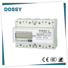 China cheap accuracy digital frequency electric energy meter
