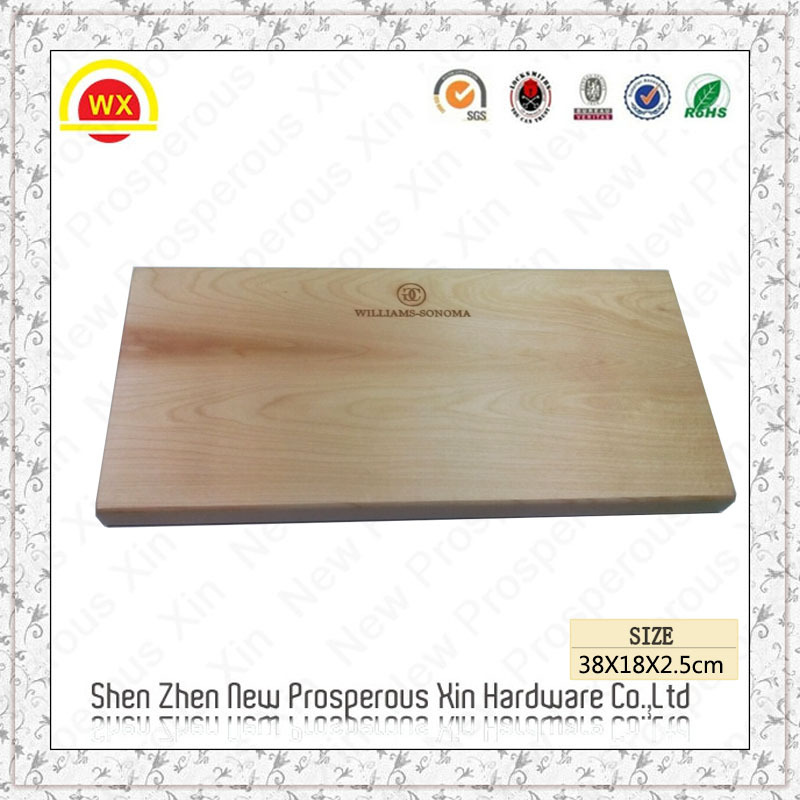 Wholesale cheese bread cutting custom shaped paulownia wood board