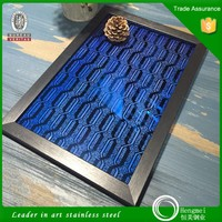 2015 hot selling 304 titanium coated stainless steel etching sheet for furniture
