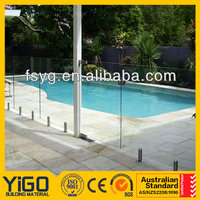 high quality glass fence/pool fence posts