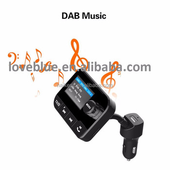 in car dab radio dab adapter FM transmitter BT music & calling USB music & charging AUX IN AUX OUT Earphone (line out)