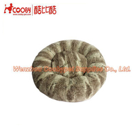 snake skin handmade dog kennel wholesale, pv fleece soft warm dog kennel wholesale, round shape cushion dog kennel wholesale