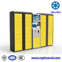 Luggage locker & Package Lockers Device for Deposit & Receiving Office