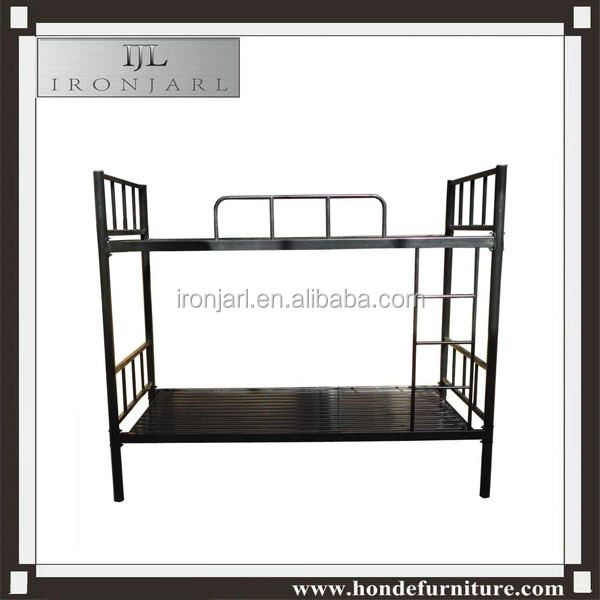 heavy duty steel metal keel bunk bed for prision or military