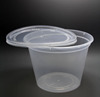16oz Cheap disposable PP plastic packaging round soup container,soup bowl