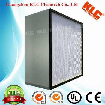 Hey!! 1220mm HEPA filter with width Glass fiber, Stainless Steel 304 frame